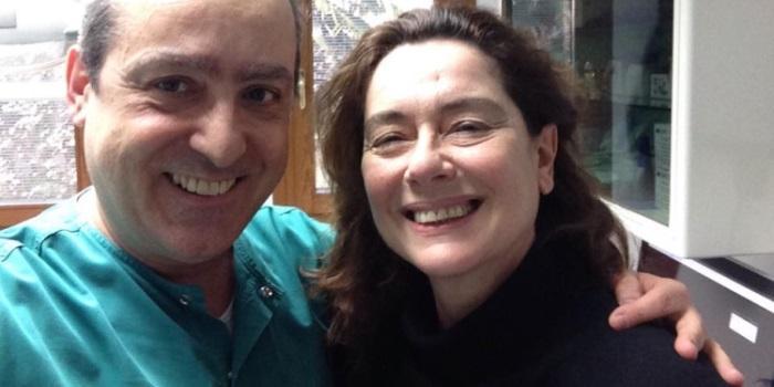 Michele D'Amelio e Monica Guerritore - Studio Dentistico Michele D'Amelio a Mestre Venezia