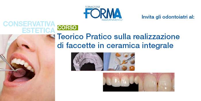 Anteprima corso faccette - Studio Dentistico Michele D'Amelio a Mestre Venezia